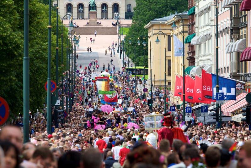 Gay pride parade oslo norway