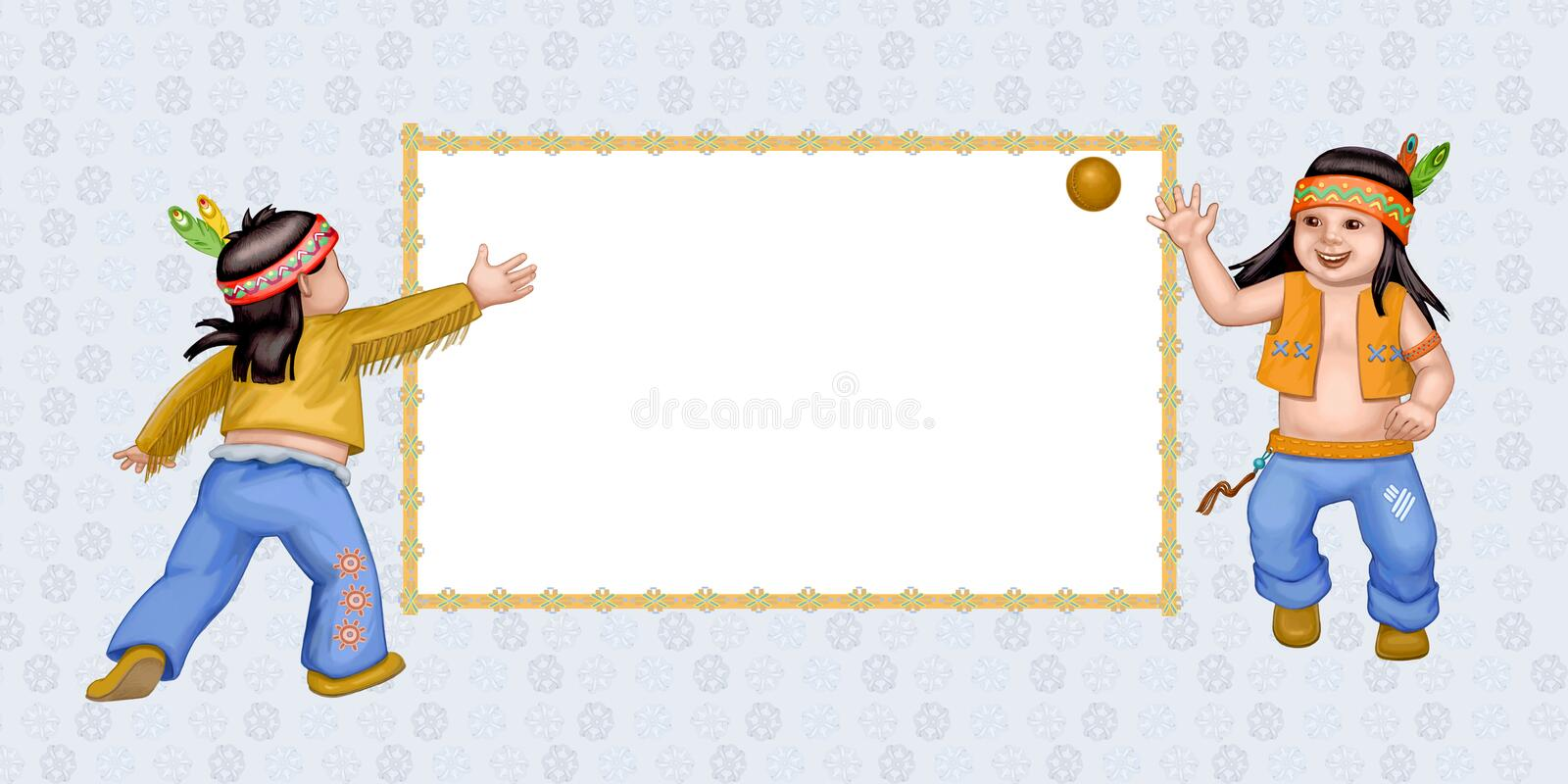 Download Gay play stock illustration. Image of fast, merry, indian - 28175438