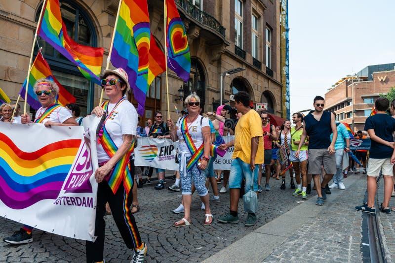 Gay Pride à Amsterdam 2019 photo libre de droits