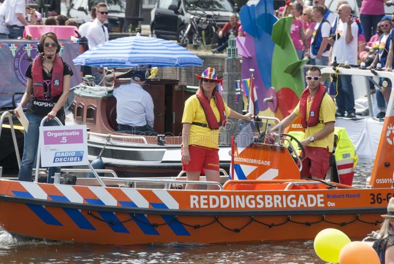 Gay pride Amsterdam 2015 fotografie stock