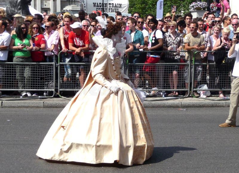 Download Gay Pride Parade Day 2010 editorial stock photo. Image of royal - 15161723