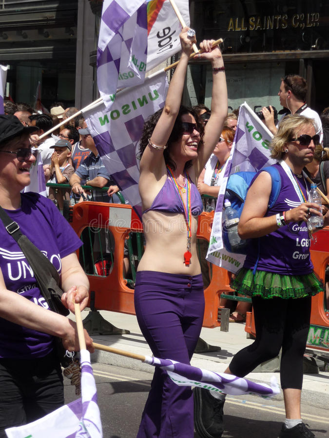 Download Gay Pride Parade Day 2010 In Central London Editorial Stock Photo - Image: 15068413