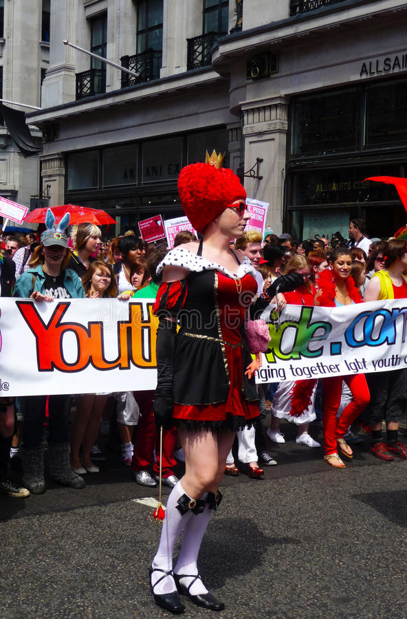 Download Gay Pride Parade Day 2010 In Central London Editorial Image - Image: 15068455