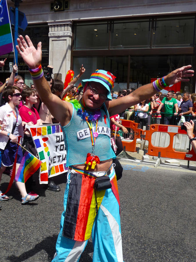 Download Gay Pride Parade Day 2010 In Central London Editorial Image - Image: 15068460
