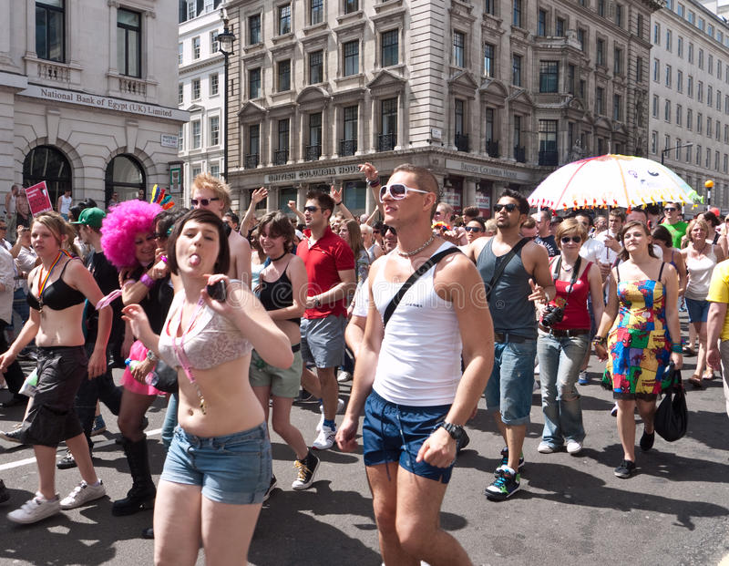 Download Gay Pride Parade London 2010 Editorial Stock Photo - Image of force, celebration: 14994288