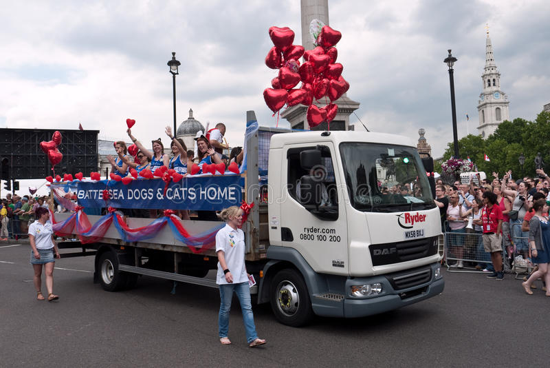 Download Gay Pride Parade London 2011 Editorial Image - Image: 20155160