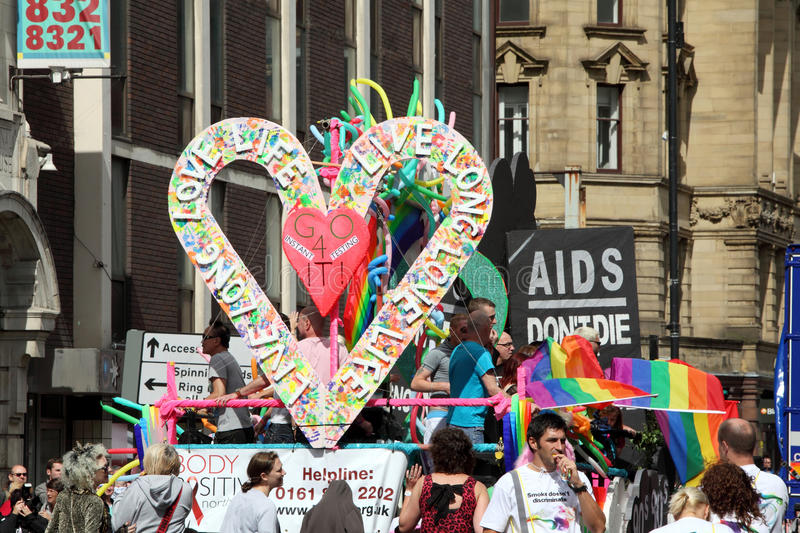 Download Gay Pride Parade In Manchester, UK 2010 Editorial Image - Image: 15803035