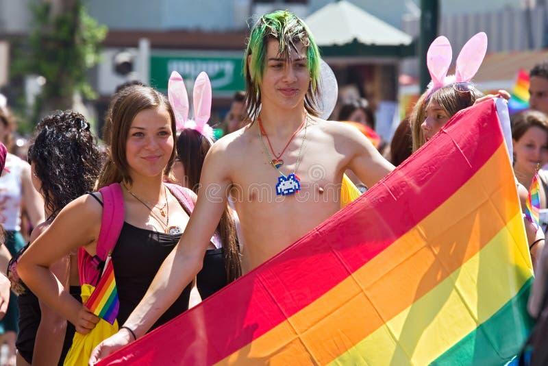Gay Pride Parade In Tel-Aviv. Editorial Image