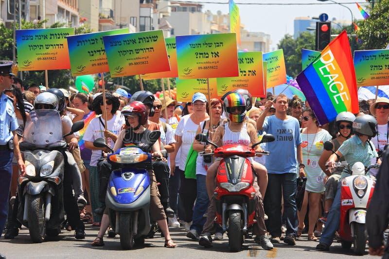 Gay Pride Parade In Tel Aviv, Israel. Editorial Stock Image