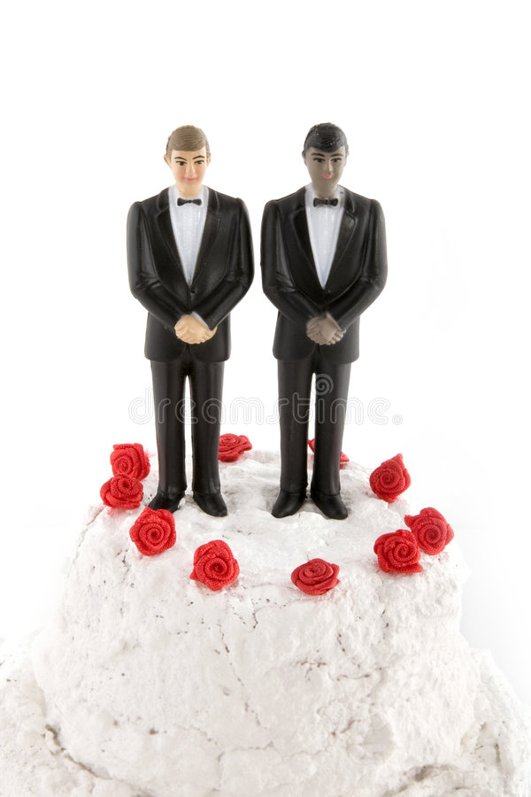 Gay Wedding Royalty Free Stock Photography
