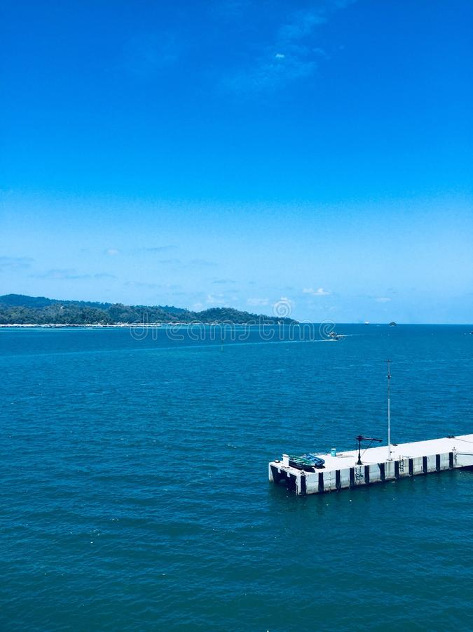Gaya海岛 免版税库存照片