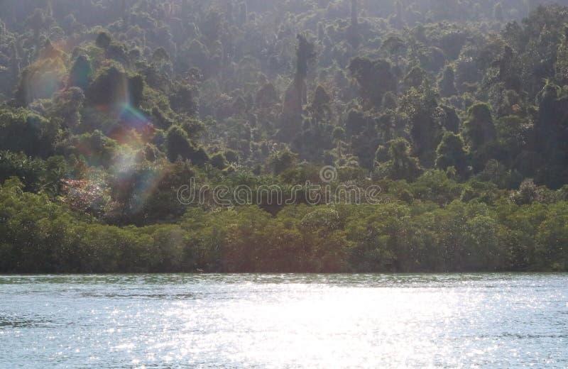 Gaya Island stock afbeelding