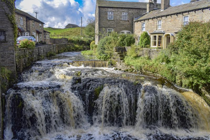 Gayle Beck, Hawes, North Yorkshire immagine stock