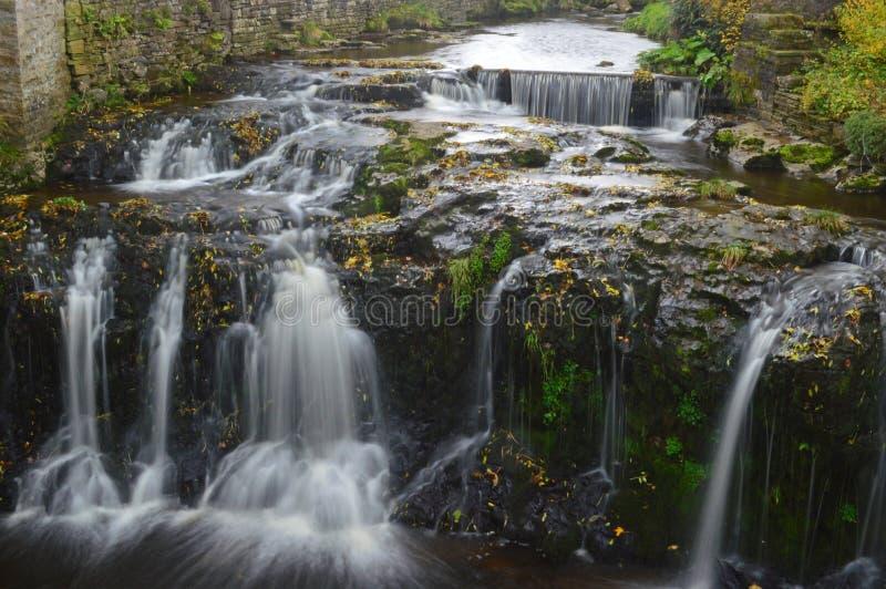 Gayle Beck Waterfalls dans Hawes photos libres de droits