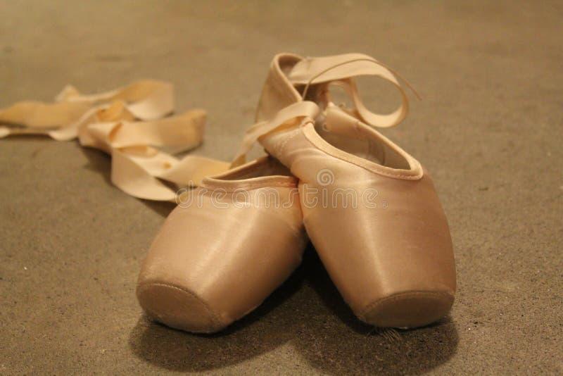 Gaynor Minden Pointe Shoes στοκ εικόνα με δικαίωμα ελεύθερης χρήσης