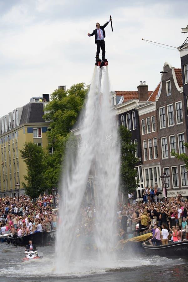 Gaypride Amsterdam 2014 image stock
