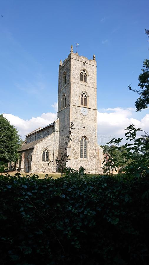 Gayton Church royalty free stock photo