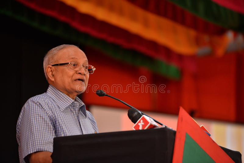 Gayyoom de Maumoon Abdul photos libres de droits