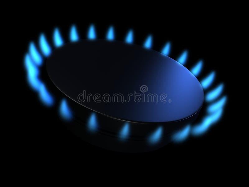 gaz ilustracja wektor