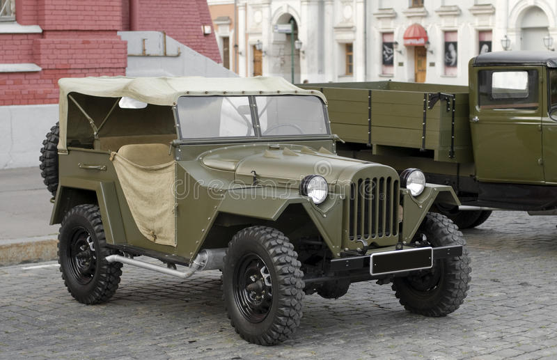 Download Gaz-67 Stock Image - Image: 23465161