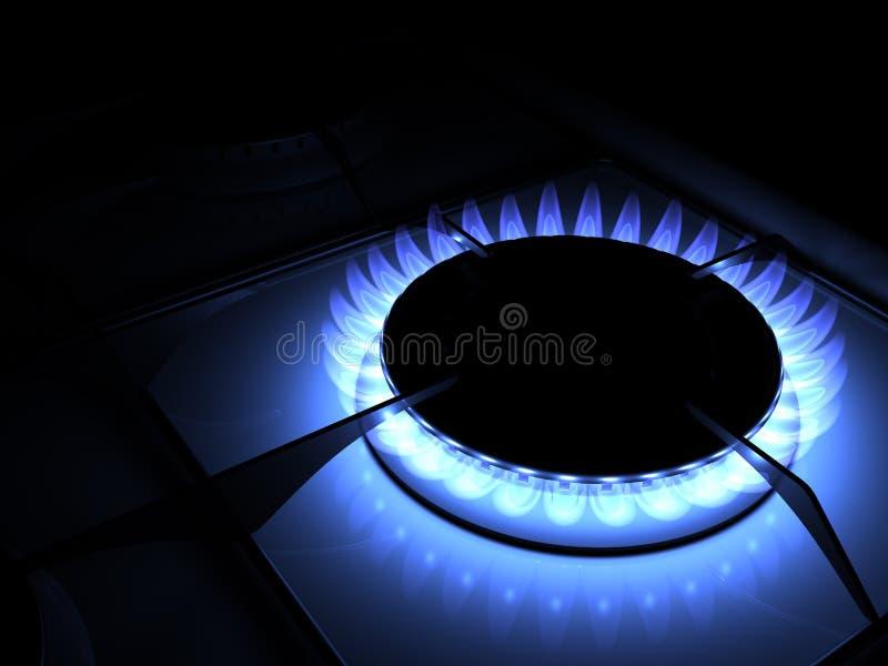 gaz illustration de vecteur