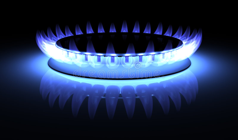 gaz illustration libre de droits
