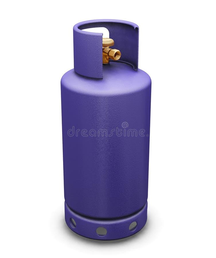 gaz butanu royalty ilustracja