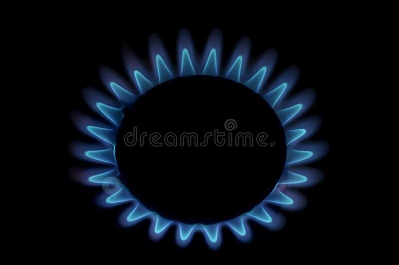 gaz de flamme photos stock