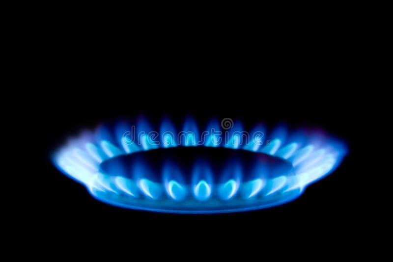 gaz de flamme photographie stock libre de droits