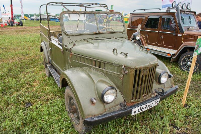 GAZ 69 стоковое изображение