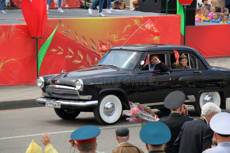 GAZ M21伏尔加河 在苏联被生产了1956-1970 库存照片