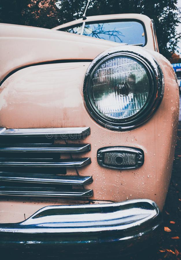 GAZ M-20 Probeda (Victory) Front Bumper Detail royalty free stock photography
