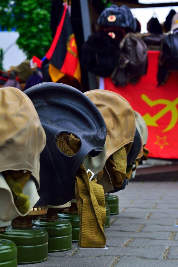 Gaz mask photos libres de droits