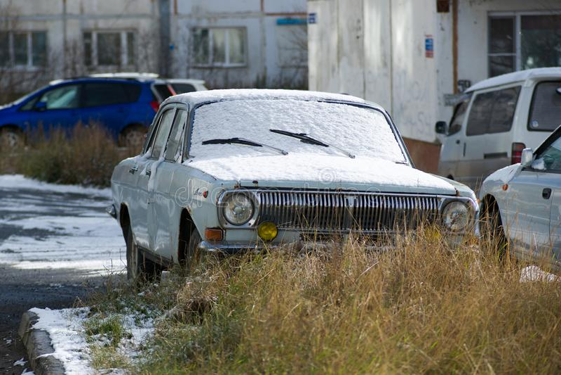 GAZ-24 ` Volga ` zdjęcia royalty free