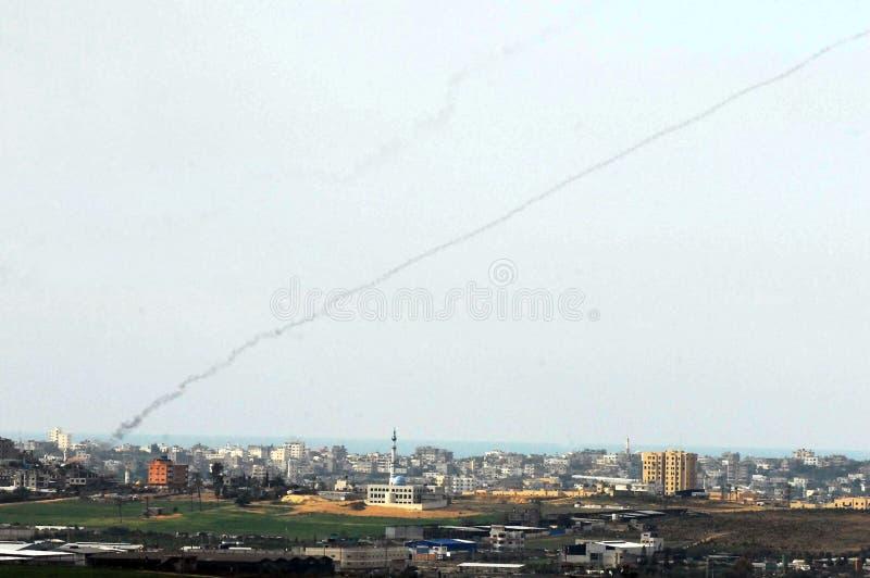 Gaza krig fotografering för bildbyråer