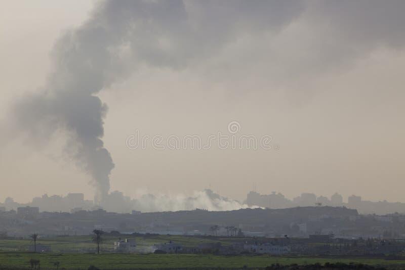Gazaremsan royaltyfria bilder