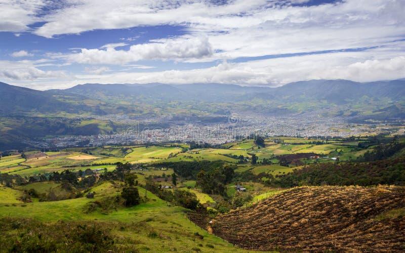 A gaze to the south. San Juan de Pasto - Colombia stock photos