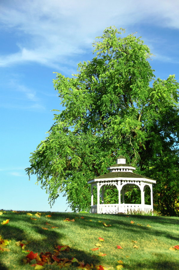 Gazebo royalty free stock photography