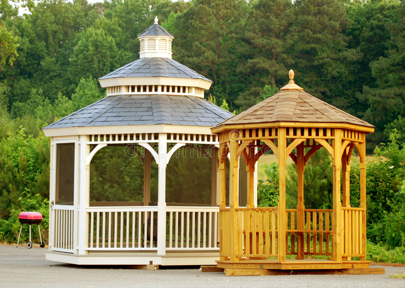 Gazebo fotografia de stock royalty free