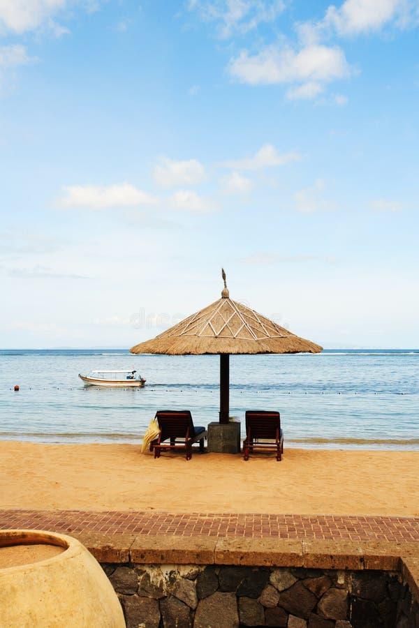 Free Gazebo At Beautiful Beach Royalty Free Stock Photos - 433328