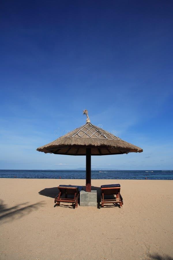 Free Gazebo At Beautiful Beach Royalty Free Stock Photography - 435427