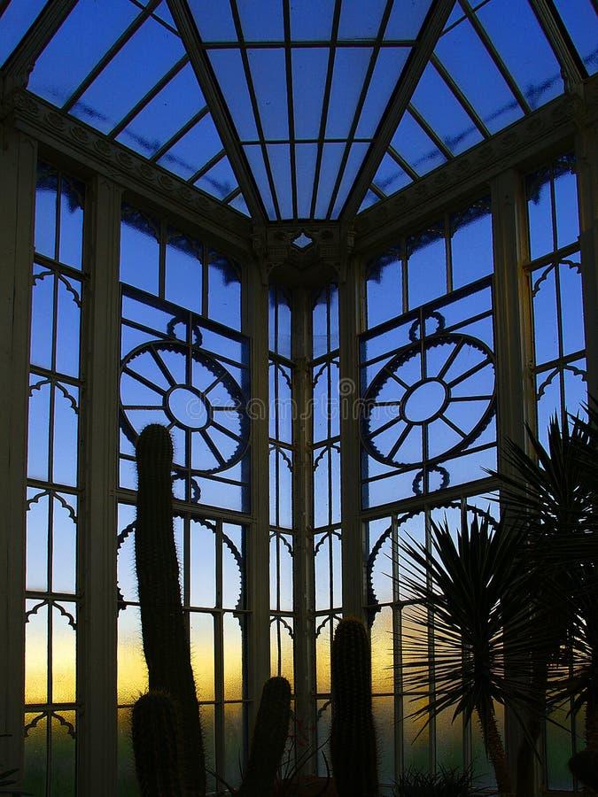 Gazebo botânico foto de stock royalty free