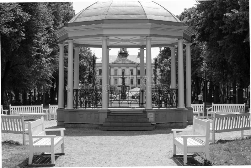 Gazebo, Czarny I Biały, Struktura, Monochromatyczna Fotografia Bezpłatna Domena Publiczna Cc0 Obraz