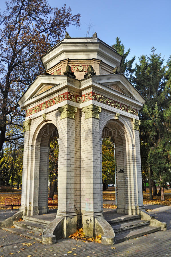Free Gazebo In The Park Kronvald Stock Images - 42102344