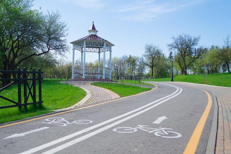 Download Gazebo Park Against The Sky Stock Image - Image: 30935983