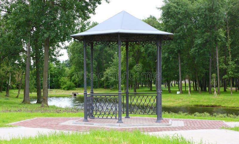 Gazebo parkland fotografia royalty free