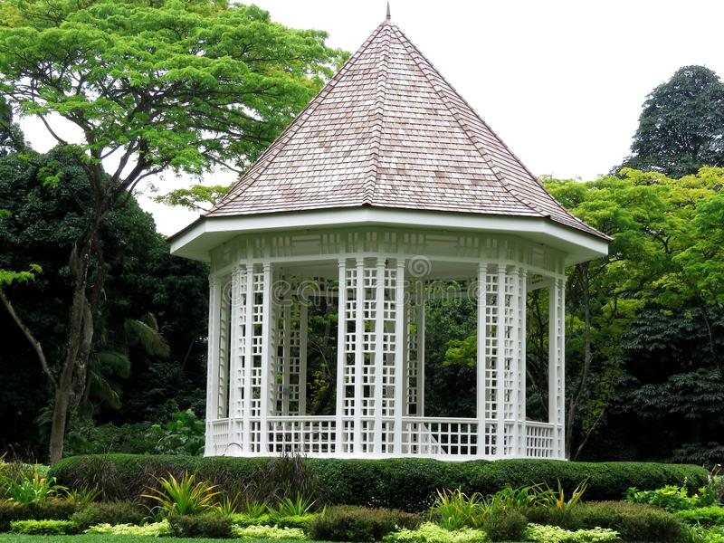 Gazebo, Plenerowa struktura, struktura, dom zdjęcie stock