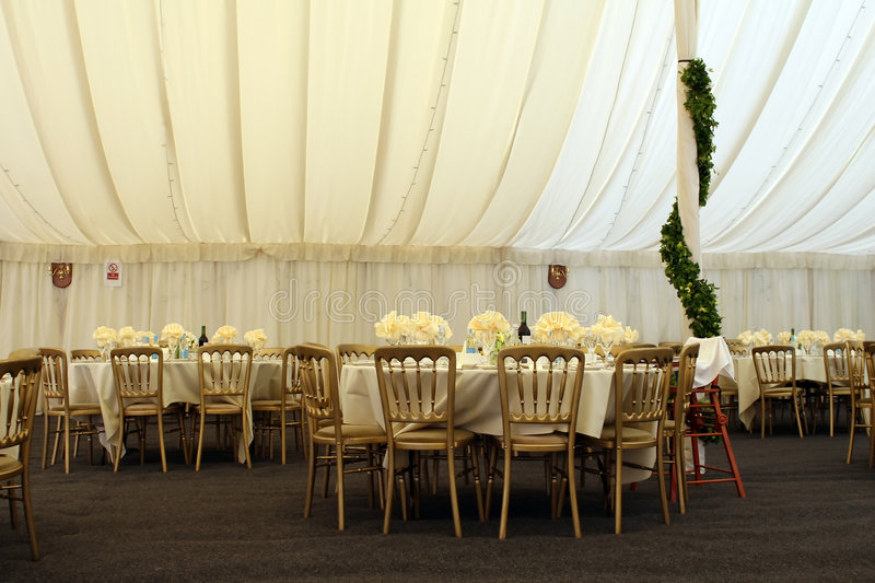 Download Gazebo for posh lunch stock photo. Image of cater, marry - 1126728