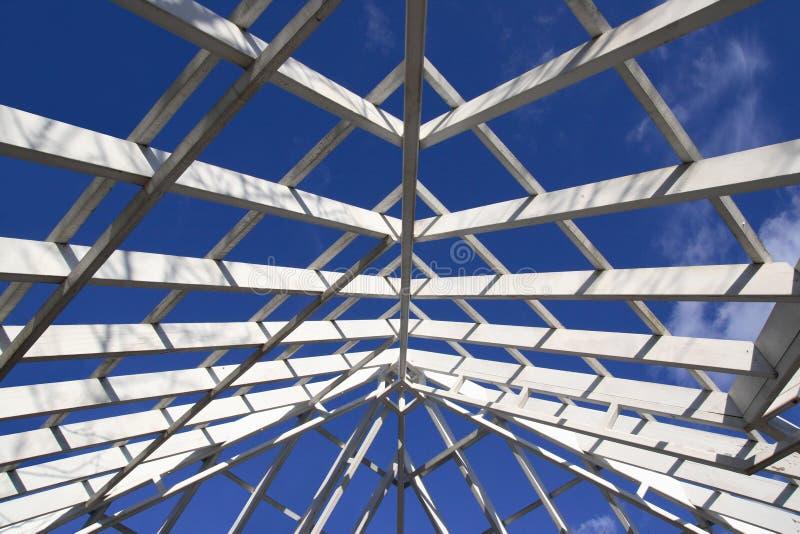 Gazebo Roof Frame stock images