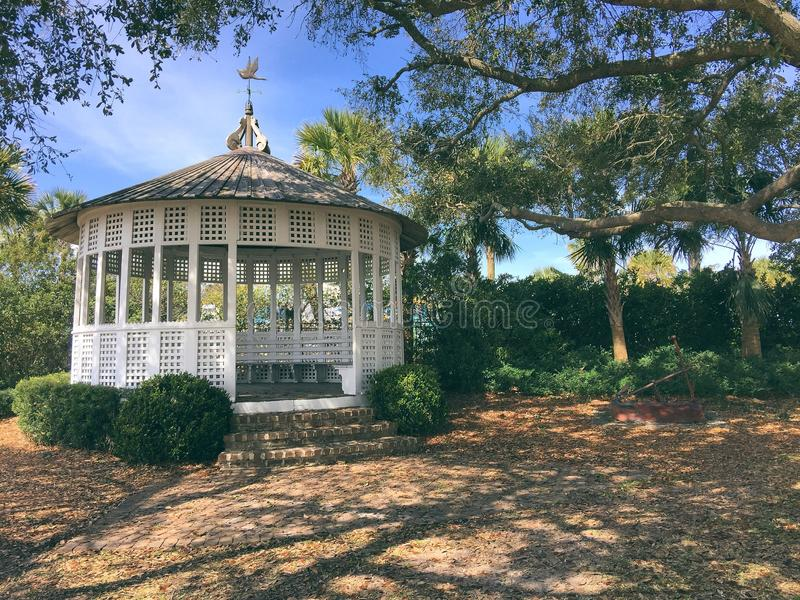 The Gazebo stock photo